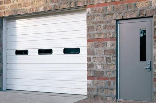 Custom steel Garage Doors